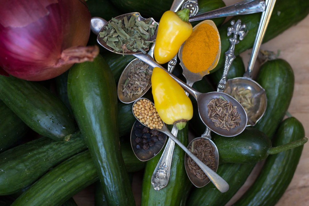 anise cucumber pickle ingredients