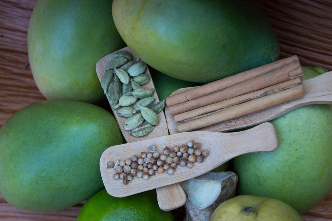 green mango pickle ingredients