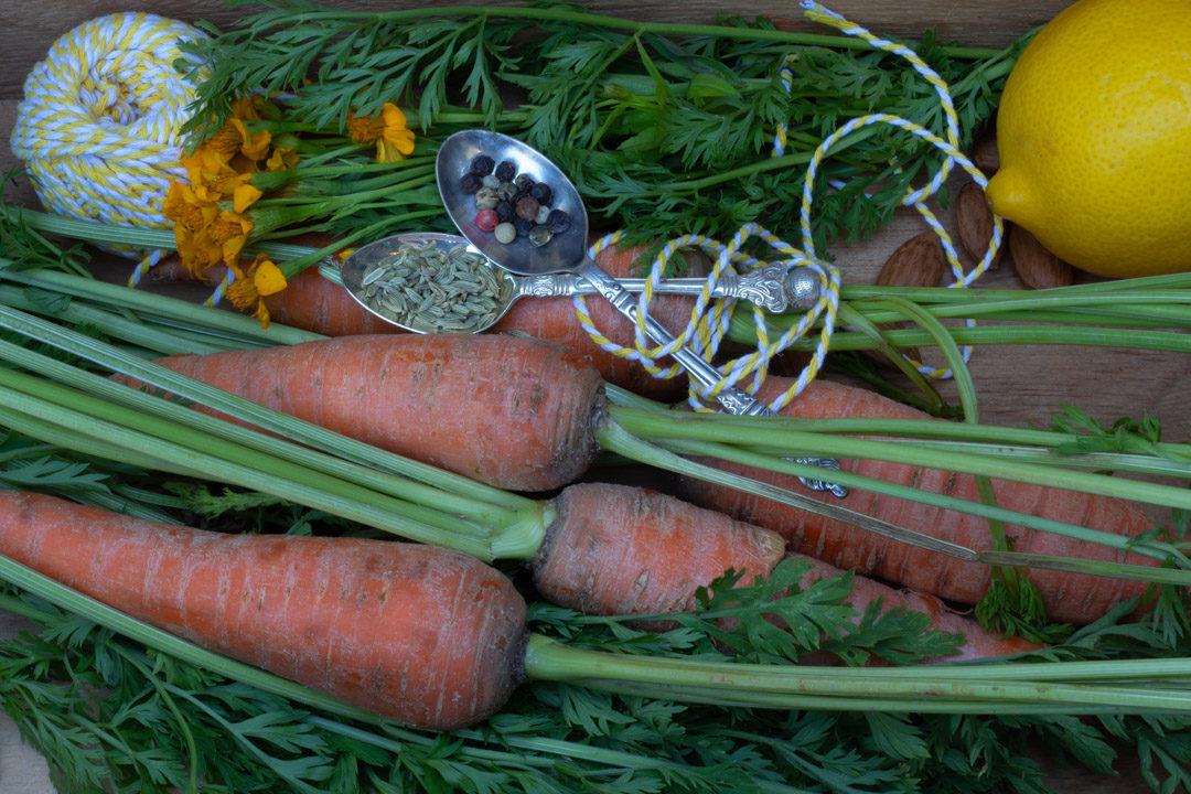 carrot pesto ingredients