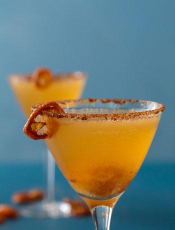 cumquat martini close up