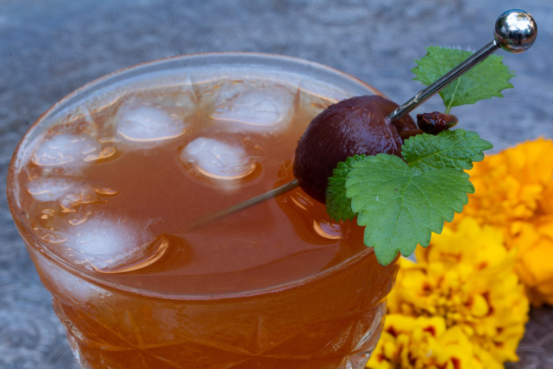 apricot pickle whiskey sour