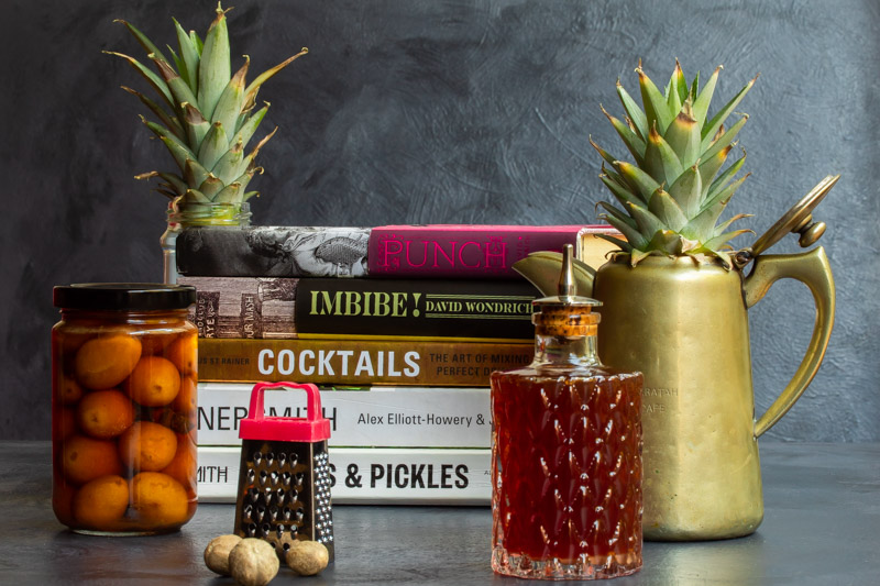 Books for pickles | cocktails | photography
