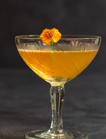 Mandarin pickle Hoop la! Cocktail eye level