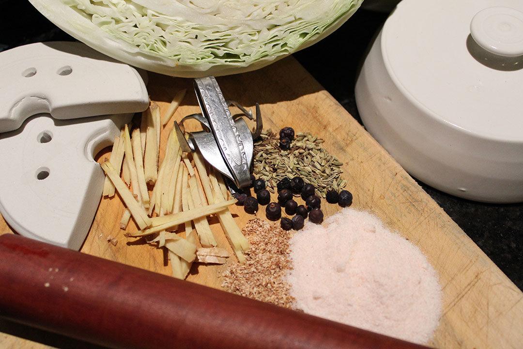 sauerkraut preparation