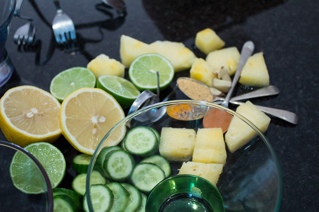 pineapple gubinge sherbet reset juice ingredients