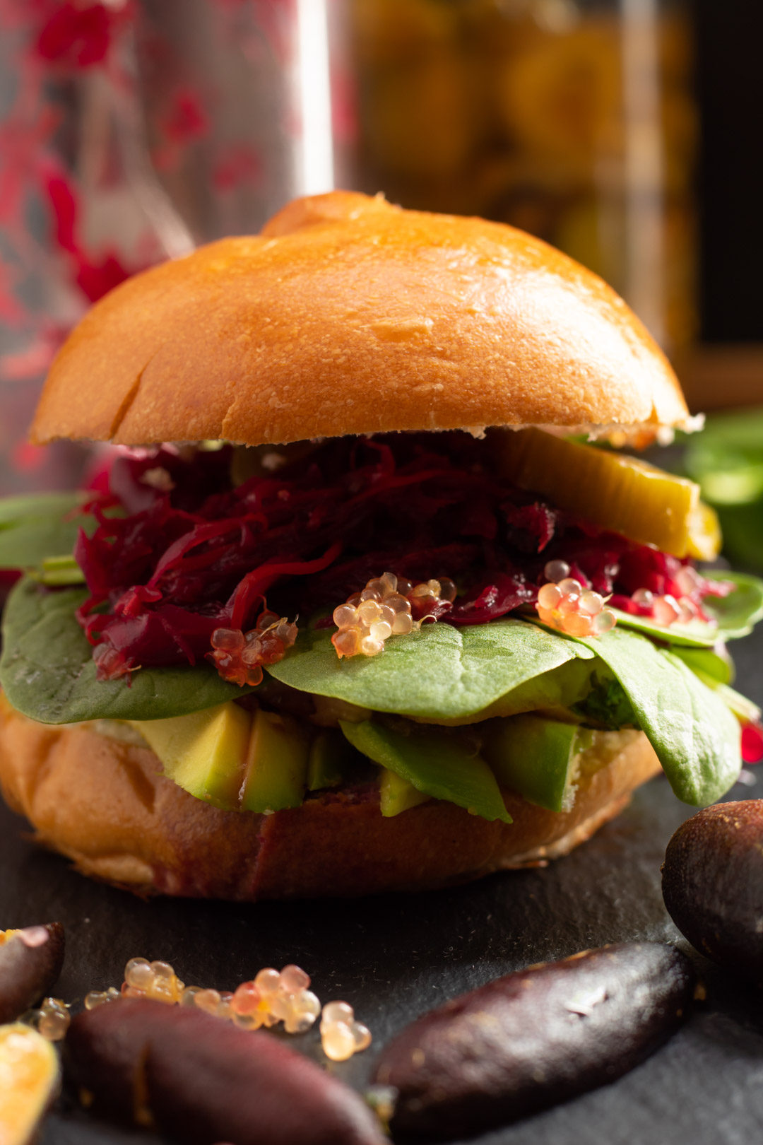 haloumi slider close up