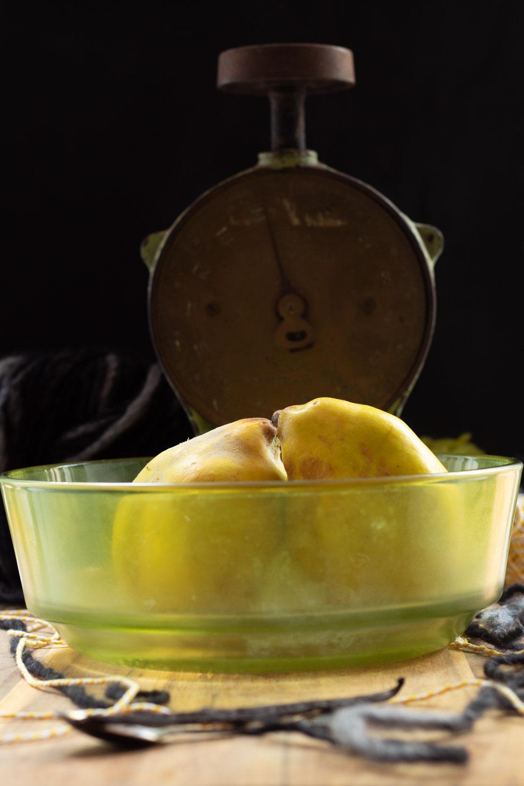 quinces with scale