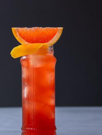 Strawberry ginger beer Chilcano de pisco