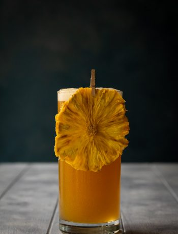 pineapple fiz cocktail